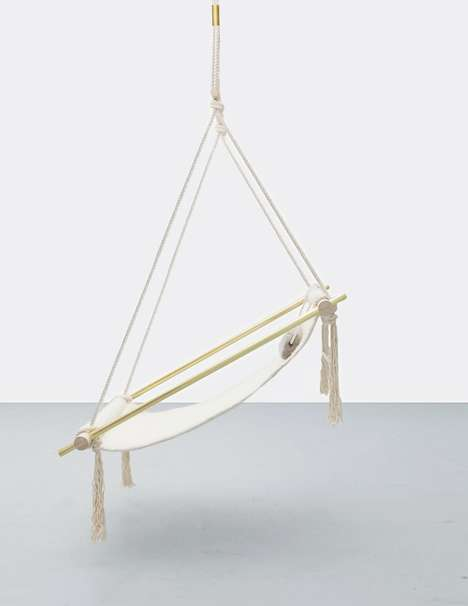 Summery Hammock Chairs - This Designer Olvis Ceiling Chair is the Perfect Way to Relax This Season