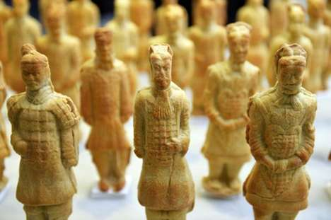 Baked Bread Armies - Conjurer's Kitchen Made Terracotta Warriors Out of Bread