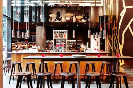 Simplistic Urbanite Hotels - The CitizenM Times Square Hotel is an Affordably Luxurious Experience
