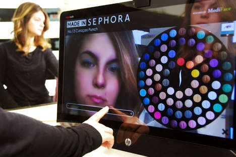 Augmented Reality Makeup Mirrors - Sephora's New 3D Augmented Reality Mirror is a First in Beauty