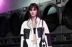 Laundromat Lookbooks - The Alexander Wang Resort 2015 Collection is Inspired by Care Instructions