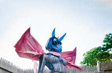 This Cosplay Costume Combines My Little Pony with Transformers