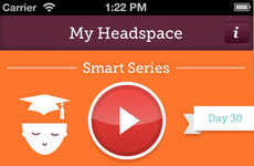 Daily Mindfulness Apps - The Get Some Headspace App Provides a Series of 10-Minute Meditations