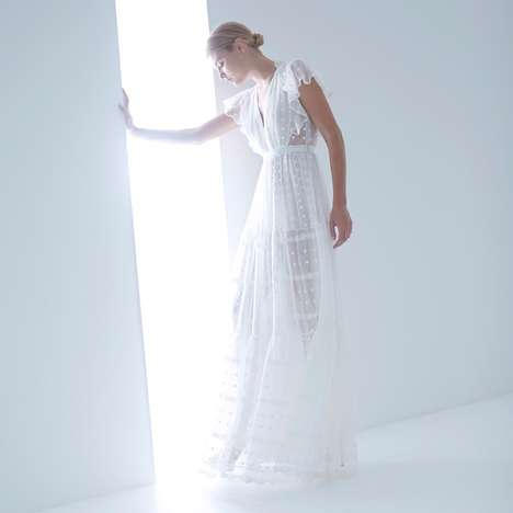 Bohemian Bridal Couture - The Lover White Magick Part 3 Lookbook is Romantic and Chic