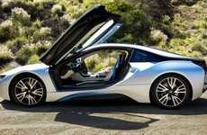 Plug-In Sportscar Hybrids - The Radically Innovative BMW i8 is a First for the Car Company