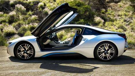 Tri-Cylinder Engine Sportscars - The 2015 BMW i8 Has the Potential to Change Cars Forever