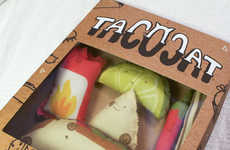 Takeout Toy Packaging - Stephani Stilwell's Tacocat Toys Come Packaged Like Fast Food