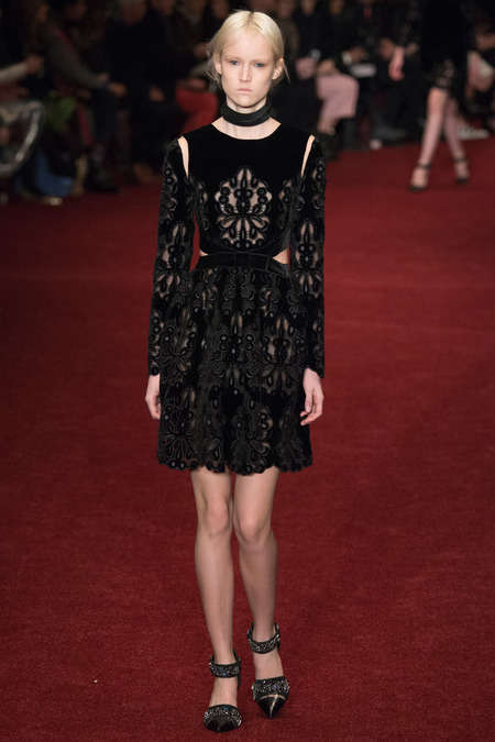 Golden Meteor Fashions - The Erdem Fall 2014 Collection Was Left Deliberately Unfinished