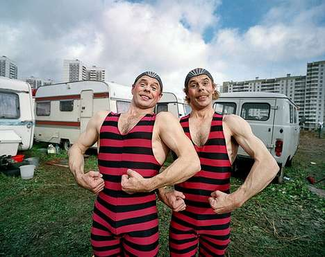 Cheerless Circus Photography - This Russian Circus Photo Series is Poignant and Nostalgic