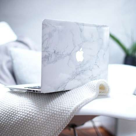 Marble Macbook Covers - Make Your Device Ultra Opulent with This Classy Cover