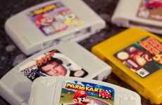 Nerdy Gaming Toiletries - The Nintendo 64 Cartridge Soaps are Nerdy and Cute