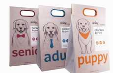 Hierarchical Pet Food Packs - These Dog Food Packs Are Designed for Pups of Three Different Ages