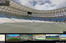 Virtual Stadium Tours - Google Maps is Allowing Fans to Step Foot into the World Cup Stadiums