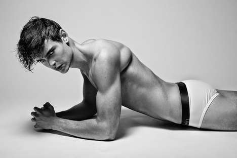 Revealing Model Candids - The Mitch Baker by Ashton Do Image Series is Scantily Clad