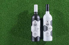 Soccer-Inspired Wines - The LASK Soccer Club Wine is a Sport Drink That Takes Cues from the Field
