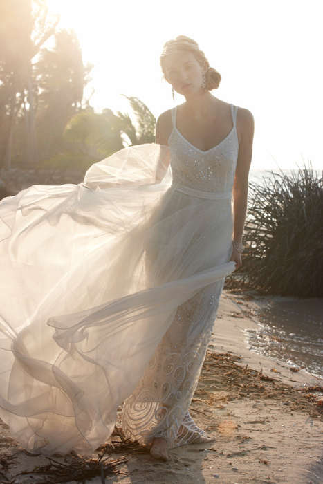 Destination Wedding Couture - The BHLDN Summer 2014 Lookbook is Romantic and Bohemian