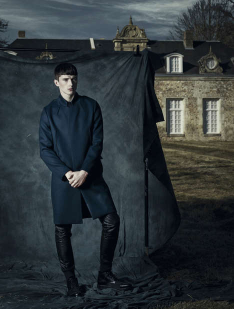 Stoic Englishmen Editorials - DSection's After a Storm Comes a Calm Fashion Story Embodies Elegance