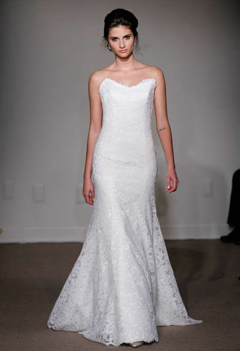 Minimalist Bridal Couture - The Anna Maier Spring 2015 Collection is Sophisticated & Simple