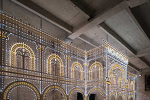 The Luminaire Light Installation by Rem Koolhaas is Classical