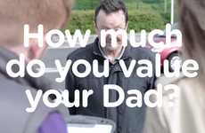 Dad Valuation Campaigns - The Car Buying Service's Father's Day Competition Will Value Your Dad