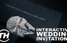 Metaphorical Matrimony Invites - Trend Hunter's Armida Talks About Interactive Wedding Invitations