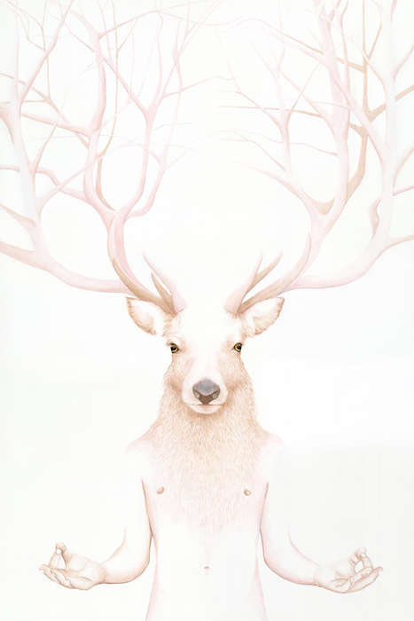 Whimsical Humanimal Illustrations - The