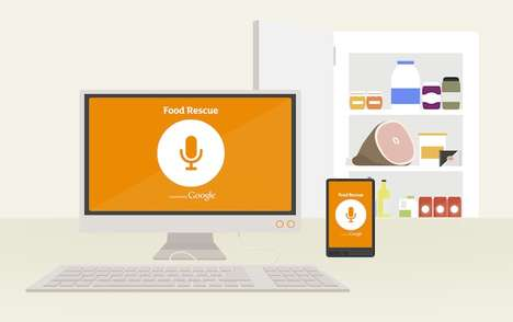Waste-Reducing Recipe Sites - Sainsbury's Food Rescue Powered by Google Helps Reduce Food Waste