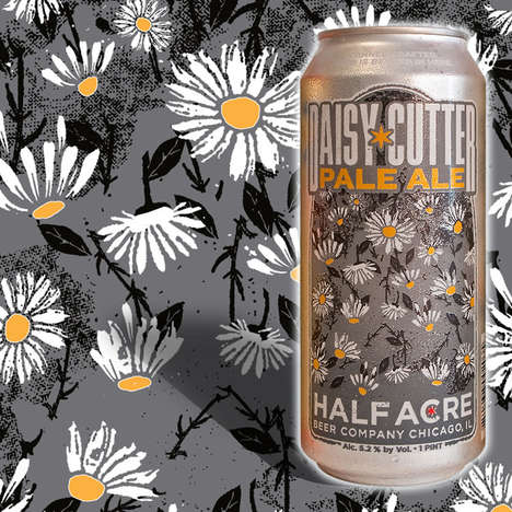 Botantical Craft Beers - The Daisy Cutter Pale Ale has Notes of Floral and Grapefruit
