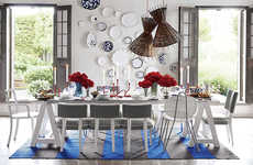Modern Mediterranean Furnishings - The Paola Navone Crate & Barrel Collection Summery and Refreshing