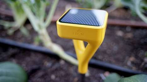 Brilliant Gardening Systems - The Edyn Smart Garden Monitoring System Helps Optimize Gardening