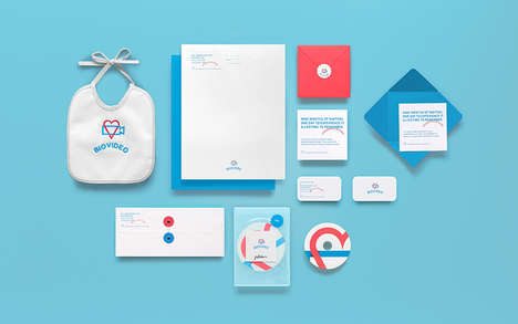 Baby-Friendly Tech Branding - This Corporate Branding Identity is Minimalistic and Alluring