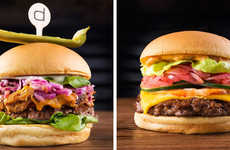 Commemorating Burger Compositions - Shake Shake's Ten Year Anniversary Celebrates in Style