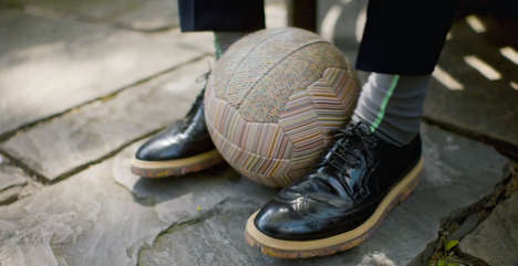 Designer Soccer Balls - Paul Smith Releases 200 Limited Edition Designs