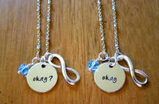 Small Infinity Necklaces - The Okay? Okay Jewelry Should Be Worn to See the TFIOS Movie This Weekend