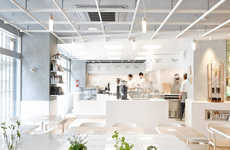 Laboratory Coffee Houses - Café Coutume Aoyama is Inspired by Science