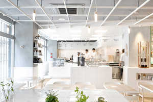 Café Coutume Aoyama is Inspired by Science