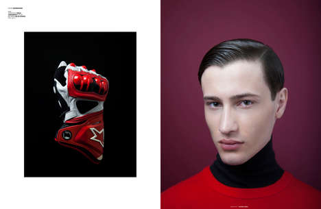 Elegant Car Racer Editorials - The Grand Prix Fashion Story for The Ones 2 Watch is Clean-Cut