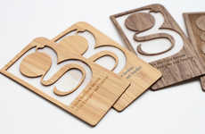 Bamboo Business Cards - Grovemade's Sustainable Business Cards are a Great Alternative to Paper