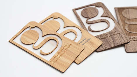 Bamboo Business Cards - Grovemade