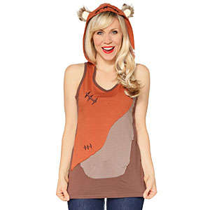 Galatic Teddy Sweaters - This Ewok Women's Hoodie is Out of This World