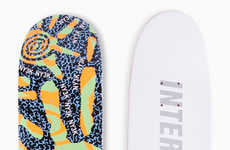Mixed-Medium Skateboards - This Skateboard Company Features Two Different Art Perspectives