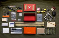 Wondrous Wilderness Camping Kits - The SOLKOA Camping Survival Kit is Comprehensive Lifesaving