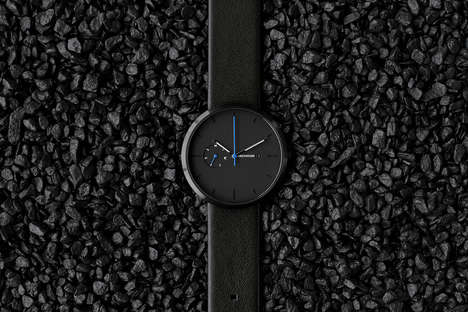 Minimalist Monochrome Watches - These Greyhours Watches Make for a Sleek Father