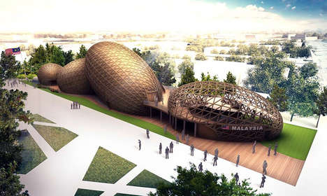 Seed-Inspired Pavilions - The Malaysia Pavilion at Expo Milan is Based on Sustainable Food