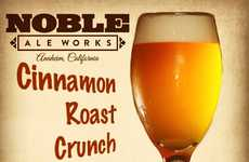 Cereal-Inspired Brews - Noble Ale Works' New Beer Mimics Cinnamon Toast Crunch's Flavors