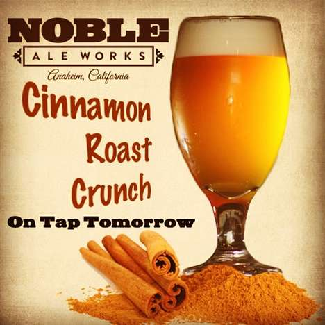 Cereal-Inspired Brews - Noble Ale Works