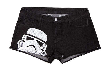 Geeky Denim Shorts - These Summer Jean Shorts Feature Several Pop Culture Characters