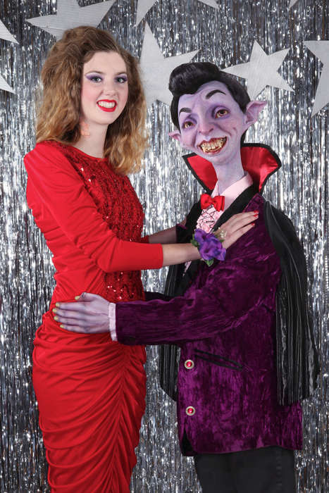 Monster Prom Photography - This Prom Photo Series Uses Iconic Monsters to Portray Insecurities