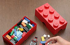 LEGO Lunch Boxes - These Building Block Boxes are Perfect for Carrying Your Meals