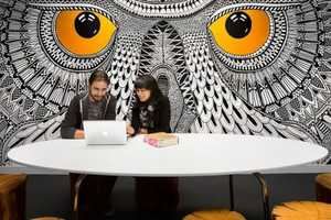 The Hootsuite Office Takes Brand Identity into Account